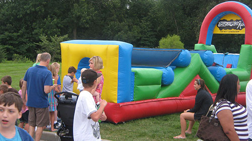 Great Obstacle Course for your Indiana Party