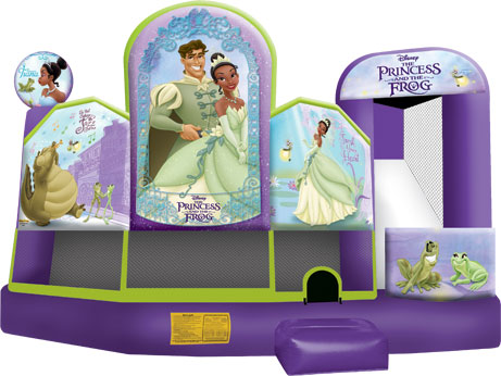 Disney Princes inflatable Castle