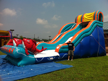 indy water slide inflatable
